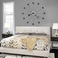 Small Picture Miller 42 oversize nickel modern ball wall clock quartz 625527