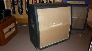 1970 Marshall 4 x 12 A Cab, Vintage Marshall Amps