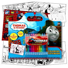 Thomas The Train Coloring Activity Set With Twist