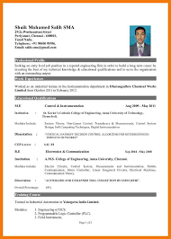 Best Resume Samples For Engineers Resume Format Engineering Pdf Krida 15