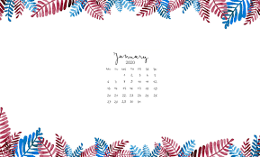 January 2020 Desktop Wallpaper Calendar ...