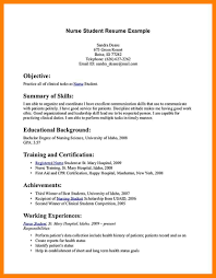 9 Resume For Nursing Student Authorize Letter