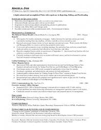 Journalist Resume Templates Memberpro Co Samples Sample 12627121 U ...