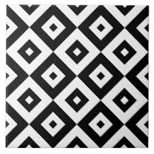 black and white diamond tile floor. Fine Black Black U0026 White Diamonds Pattern  Ceramic Tile With And Diamond Floor N