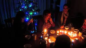 lighting my birthday candles
