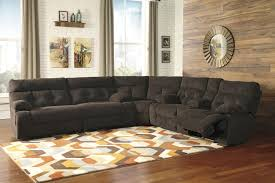 pc king bedroom set rustic plank finish  piece power recliner sectional chocolate