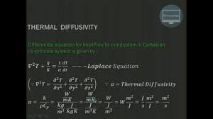 thermal diffusivity explained heat transfer theory rklearning
