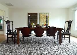 interior should you put a rug under dining room table elegant let s settle this