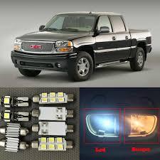 2000 Gmc Sierra Daytime Running Light Bulb Number 14x Auto Interior Led Lights Bulb Kit For 2000 2006 Gmc