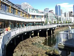 dinner seattle waterfront. file:view of restaurant cafe along the waterfront seattle washington.jpg dinner