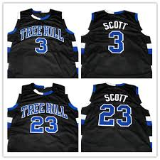 Lucas Tree 99 3 18 Nathan Scott Men Movie Jersey Embroidery One Black-in one Basketball Jersey Us Logos Ceap 23 Hill