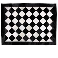 baffling ideas for black and white rug come with large