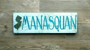 manasquan nj jersey s manasquan beach town sign nj new jersey beach house sign