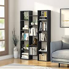 home office bookshelf. LTITTLE TREE 5-Shelf Modern Bookcase, Organizer Storage Bookshelf, For Home  Office, Home Office Bookshelf
