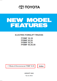 toyota electric forklift trucks 7fbmf16 50 service manual pdf repair manual toyota electric forklift trucks 7fbmf16 50 service manual pdf