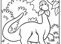 Small Picture Dinosaurs Coloring Pages Printables Educationcom