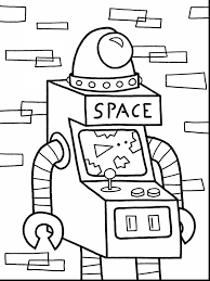 Small Picture Good robot coloring page with robot coloring pages magnificent