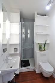 remodeling small bathroom ideas. Small Bathroom With Wooden Flooring, White Walls, Ceiling, Toilet, Remodeling Ideas