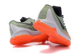 nike basketball shoes 2017 kd. mens nike kd 8 army green orange black basketball shoes smallest size us 73 2017 kd o