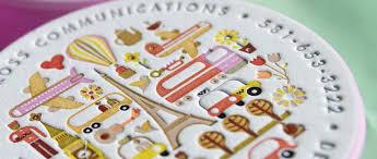 Letter Press Business Card Circular Letterpress Business Cards Jukebox Print