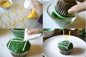 Super Bowl Cupcake Decorating Ideas