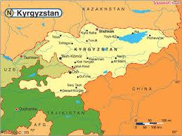 Kırgizistan İdari Haritası ile ilgili görsel sonucu