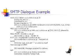 Dialogue In Essay Smtp Dialogue Example