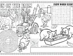 Coloring Pages Farm Farm Coloring Pages For Kids Farm Coloring