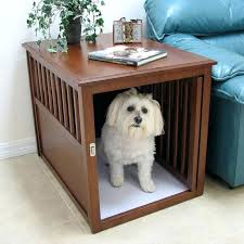 pet crate table dog crate coffee table diy pet crate table