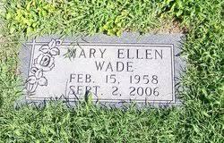 Mary Ellen Wade (1958-2006) - Find A Grave Memorial