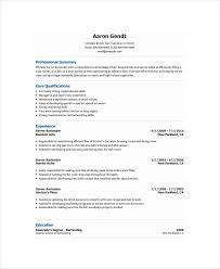 Entry Level Bartender Resume