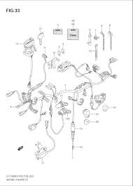 2004 suzuki eiger 2wd ltf400 wiring harness parts best oem 2000 yzf r6 wiring suzuki wiring harness