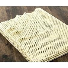 rug pad 8x10 exterior non slip rug pad ivory