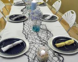 Nautical Table Settings Baby Shower Platinum Planners