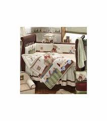 teddy bear crib sheet lambs ivy teddy bear story 6 piece baby crib bedding set