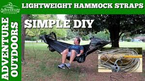 diy hammock straps ultralight hammock suspension