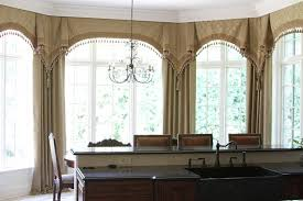 bay window curtain rod home depot