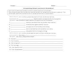 Sentence And Sentence Fragments Worksheets