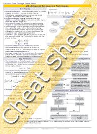 calculus review sheet calculus advanced integration techniques lhopitals rule and