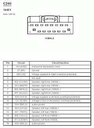1998 ford ranger stereo wiring diagram the wiring 2000 ford taurus radio wiring diagram and schematic