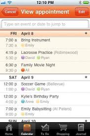 Family Organizer Iphone App Cozi Love It Even My Kids Have It