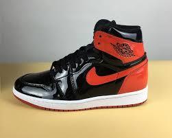 air jordan 1 patent leather banned