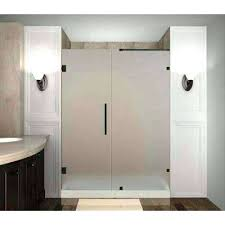 frosted shower doors shower doors architecture frosted shower doors showers the home depot regarding glass frosted shower doors