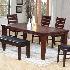 dark brown dining room set