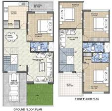 40 x 40 duplex house plans best of house plan for 20 feet by 45 feet