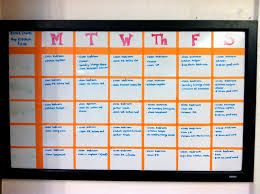Chore Chart On Whiteboard Compare Price Kids Chore
