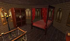 Medieval Bedroom Mod The Sims Westfall Kingdom A Complete Self Contained