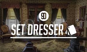 set dresser how to become a freelance set dresser 90 seconds