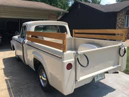 Ford F-100 Questions - Did this truck bed come on the 1963 Ford from ...
