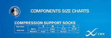 Cw X Conditioning Wear Compression Support Running Sock